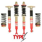 F2 Function And Form Coilovers For Audi A4 01-08 Fwd/awd Type 1 F2-b6b7t1