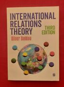 International Relations Theory By Oliver Daddow 3rd Ed. Sage 2017 Free Pandp