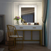 New Bedroom Makeup Vanity Set Dressing Table W/ 3 Variable Touch Led Light