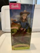 Western Style Barbie Doll G4598 Bend And Move Body Poseable Mattel 2004 Nrfb
