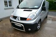 To Fit 2002-14 Renault Trafic Bull Bar Nudge Chin Abar Stainless Steel Bumper