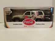 2002 Jeep Liberty Limited Coca-cola 118 By Matchbox Collections