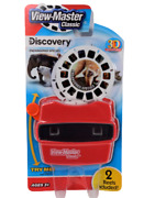 View-master Viewer Reel Lot Set 2 Discovery 3d Reels New Sealed Classic Toy Red