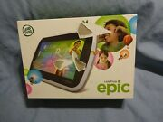 Leap Frog Epic Kids Learning Tablet Quad Core Wifi 16gb Memory