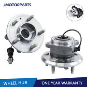 Left And Right Rear Wheel Bearing Hub Assembly For Chevy Equinox Pontiac Torrent