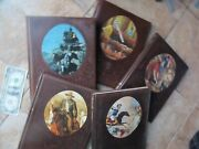5 Super Time Life Old West Books 49ers, Loggers, Gunfighters, Mexican War, Gift