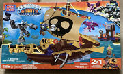 Mega Bloks Skylanders Crusher's Pirate Quest 328 Pieces 95442 New Never Opened