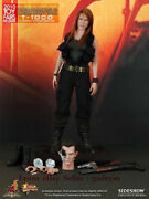 Ht Mms125 1/6 2010 Terminator 2 Sarah Connor T1000 Camouflage Action Figure