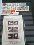 Austria / Österreich 1972 Set Used And Hm Possible Windows From Hinges