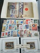 Austria / Österreich 1983 Set Used And Hm Possible Windows From Hinges