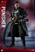 Hottoys Ht 1/6 Tms004 Tv Version Punisher Action Figure In Stock Pvc