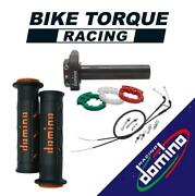 Domino Xm2 Quick Throttle Kit With Super Soft Grips For Royal Enfield Bikes