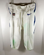 2018 Indianapolis Colts Andrew Luck 12 Game Used White Pant Last C Reg S Start