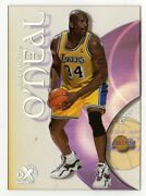 1999-2000 Shaquille Oand039neal Shaq 14 Skybox E-x Century Lakers Acetate
