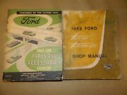 1962 Ford Orig Parts Catalog And Shop Manual_fairlane/tbird/galaxie/ranch/sunliner