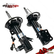2 Front Strut W/ Electric For 13-16 Lincoln Mkz Ford Fusion Eg9z18124k Ast84770