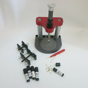 Flat Blade Watch Dial Feet Milling Tool Kit With Movement Holder F54114