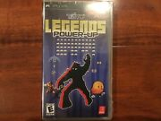 Brand New Sealed Taito Legends Power-up Sony Psp 2007 Free Shipping