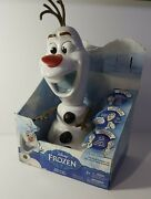 Frozen Olaf-a-lot 13 Talking Snowman Action Figure Disney 50+phrases With Mug