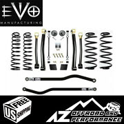 Evo Mfg 2.5 Enforcer Stage 3 Plus For And03918-and03921 Jeep Wrangler Jl Jlu Evo-3011s3p