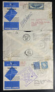 1939 Dublin Ireland First Imperial Flight Cover To Easton Pa Usa Rodgers Signed