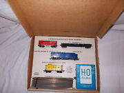 """Gilbert American Flyer Ho Scale 30705 """"the Reliable"""" Freight Set O.b. Lotm-89"""