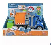 Recycling Talking Truck Garbage Recycle Vehicle Blippi New Release 2020