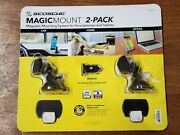 Scosche Magic Mount 2-pack Magnetic Mounting System Smartphones Tablets