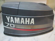 6h3-42610-45-4d Yamaha Outboard 70 Hp Engine Cover Hood Cowling