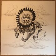 Neil David Sr. Hopi Our Father The Sun Signed Numbered, Lithograph