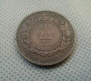 World Old Coins 1864 One Cent New Brunswick Collectibles