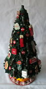 Danbury Mint Coca Cola Lighted Christmas Tree No Topper Or Power Supply