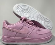 Nike Air Force 1 Lv8 Style Lt Arctic Pink Gs Sz 5.5y-wmns Sz 7 [ar0736-600]