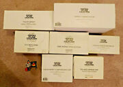 Dept 56 Heritage Village Collection Lot Of 8 Accessories Mint Retired