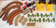 Incomplete Geotrax Toy Story 3 Exploding Bridge Train Parts No Remote Or People