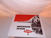American Flyer 20425 Reproduction Set Box And Inserts Only-no Trains Or Cars
