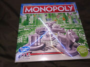 Monopoly Board Game By Hasbro Games 2-5 Players Nib Sealed Russian