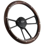 Chevy Pick-up Truck 1995 To 2001 Real Wood Steering Wheel Kit Silverado, C10, Ck