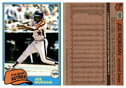 1981 Topps Baseball Cards Complete Your Set U-pick 401-600 Ex-m Free Shipping