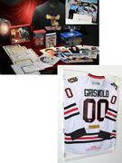 Christmas Vacation Chevy Chase Signed Jersey Psa Dvd +13 Autographs Mug More