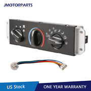 Ac Heater Control And Blower Motor Switch For 99-04 Jeep Wrangler Tj 55037473ab