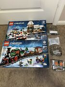 Lego 10254-10259 Winter Village And Winter Holiday Train And All Power Functions
