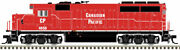 Atlas 10003456 Emd Gp40-2 - Standard Dc Canadian Pacific 4653 Red White Non-s