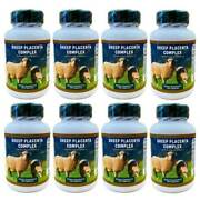 100 Bottles Sheep Placenta With Grape Seed Collagen Zinc10000capsules In Total