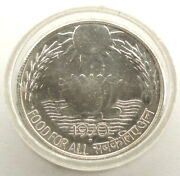 India 10 Rupees 1970 Silver Km186 Unc Series Fao Low Mintage In Capsule Zz15.3
