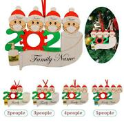 Personalized Diy Christmas Ornaments Hanging Family Name Xmas Ornaments Decor