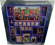 Stan Lee Signed Autographed Comic Book Framed With Action Figures Amazing Ga 69