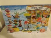 Fisher-price Little People Advent Calendar Count Down To Christmas Free Shipping