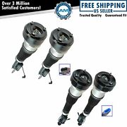 Air Shock Strut Assembly Front And Rear Kit Set Of 4 For Mercedes S Class W221 Rwd