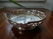1946 Sheffield Sterling Silver Footed Serving Bowl Trinket Tray Candy Dish 138g